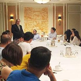 国际企业家联盟座谈