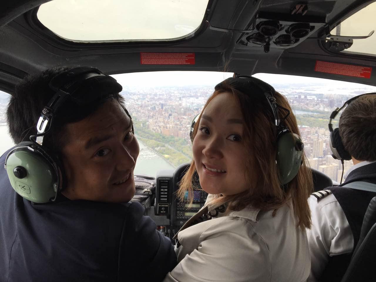 直升机鸟瞰曼哈顿1