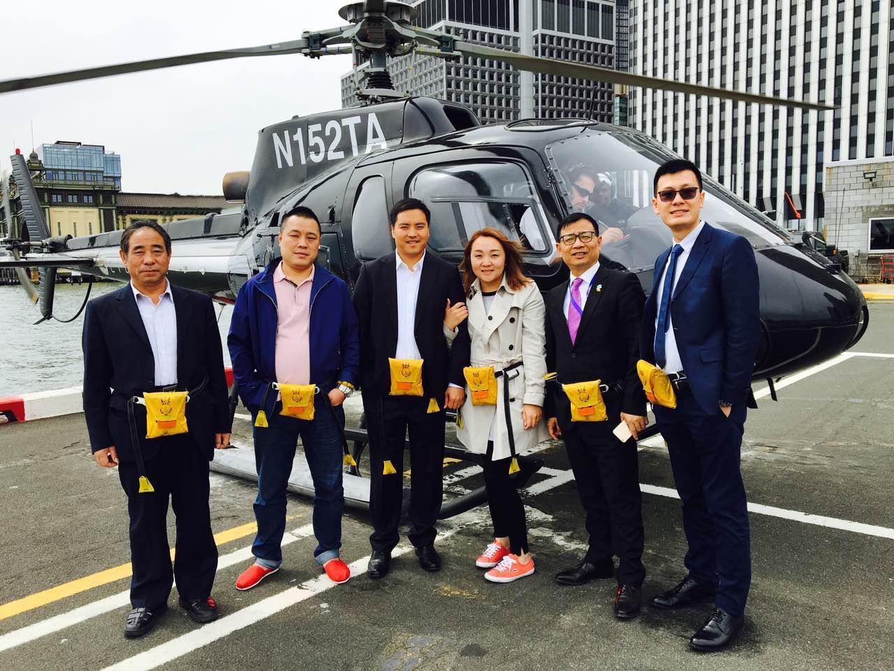 直升机鸟瞰曼哈顿3