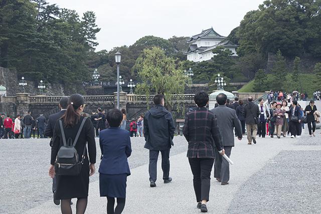 皇居游览1