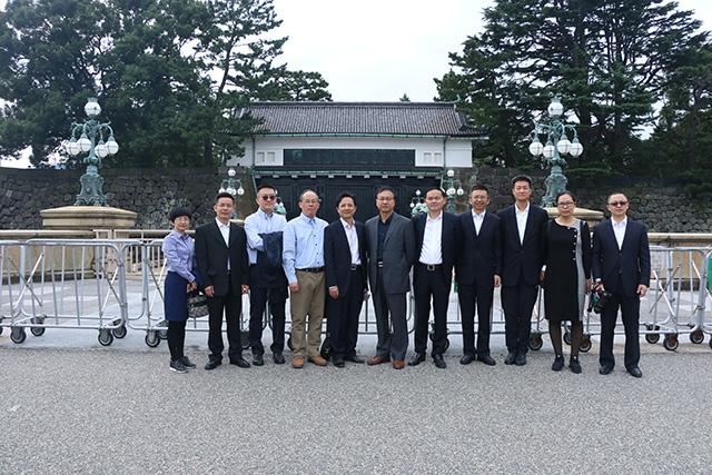 皇居游览2