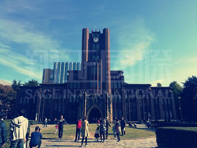 漫步东京大学