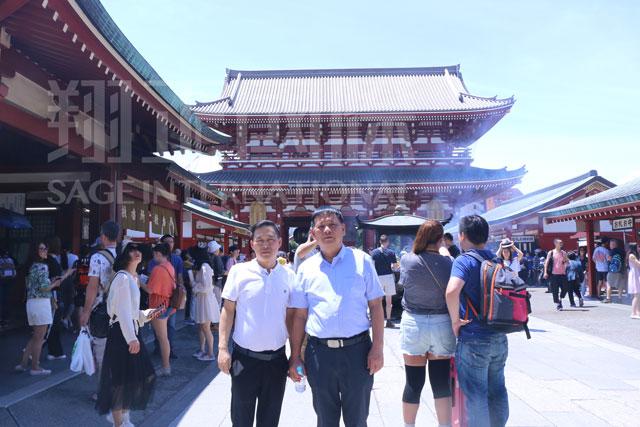 文化体验之浅草寺1