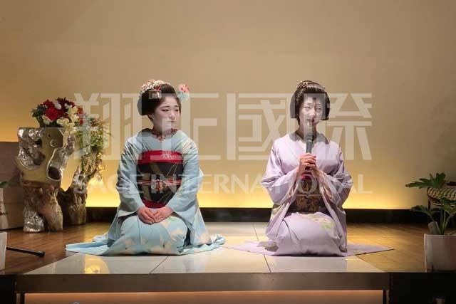 日本文化体验艺伎表演