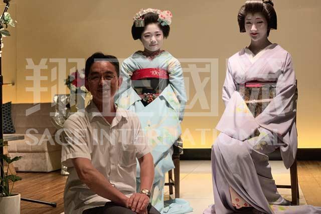 日本文化体验艺伎表演1